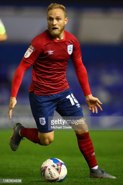 Alex Pritchard of Huddersfield Town during the Sky Bet Championship match between Birmingham City and Huddersfield Town at St Andrew's Trillion...