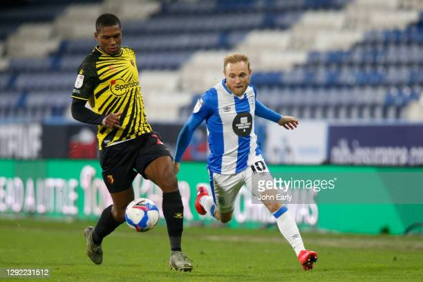 Alex Pritchard of Huddersfield Town during the Sky Bet Championship match between Huddersfield Town and Watford at John Smith's Stadium on December...