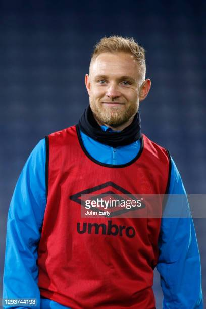 Alex Pritchard of Huddersfield Town during the Sky Bet Championship match between Huddersfield Town and Blackburn Rovers at John Smith's Stadium on...