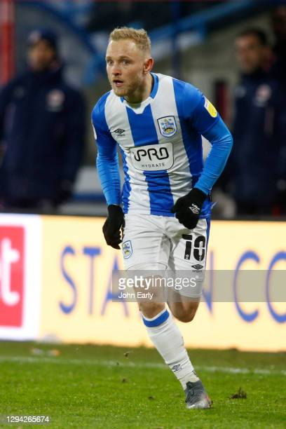 Alex Pritchard of Huddersfield Town during the Sky Bet Championship match between Huddersfield Town and Reading at John Smith's Stadium on January...