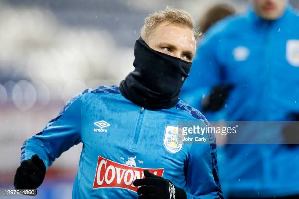 Alex Pritchard of Huddersfield Town during the Sky Bet Championship match between Huddersfield Town and Millwall at John Smith's Stadium on January...