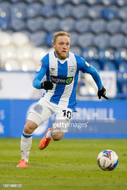 Alex Pritchard of Huddersfield Town during the Sky Bet Championship match between Huddersfield Town and Wycombe Wanderers at John Smith's Stadium on...