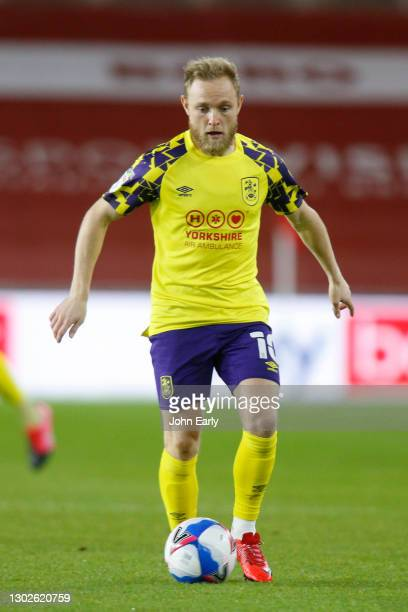 Alex Pritchard of Huddersfield Town during the Sky Bet Championship match between Middlesbrough and Huddersfield Town at Riverside Stadium on...