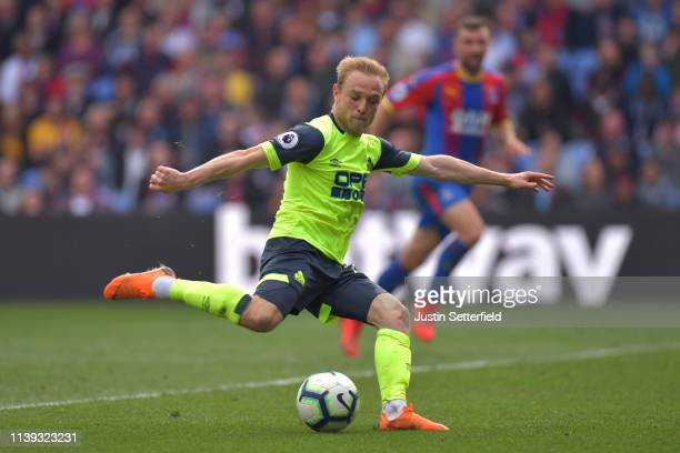 Alex Pritchard of Huddersfield Town in action during the Premier League match between Crystal Palace and Huddersfield Town at Selhurst Park on March...
