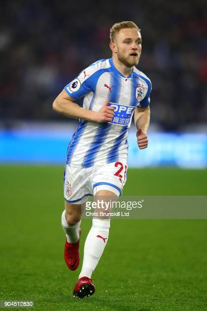 Alex Pritchard of Huddersfield Town in action during the Premier League match between Huddersfield Town and West Ham United at John Smith's Stadium...