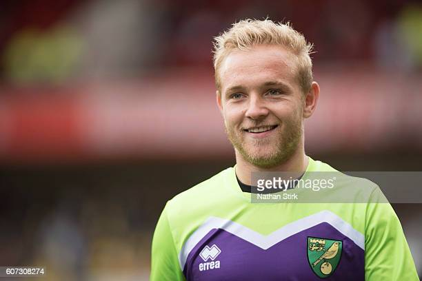 Alex Pritchard of Norwich looks on before the Sky Bet Championship match between Nottingham Forest and Norwich City at the City Ground on September...