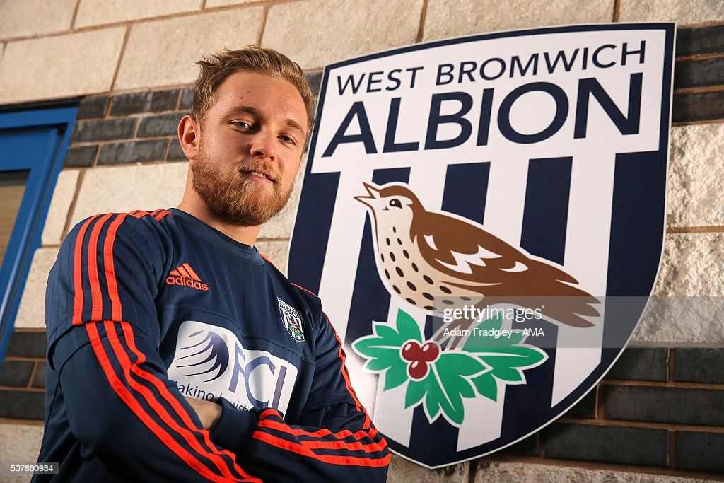 West Bromwich Albion Unveil Loan Signing Alex Pritchard