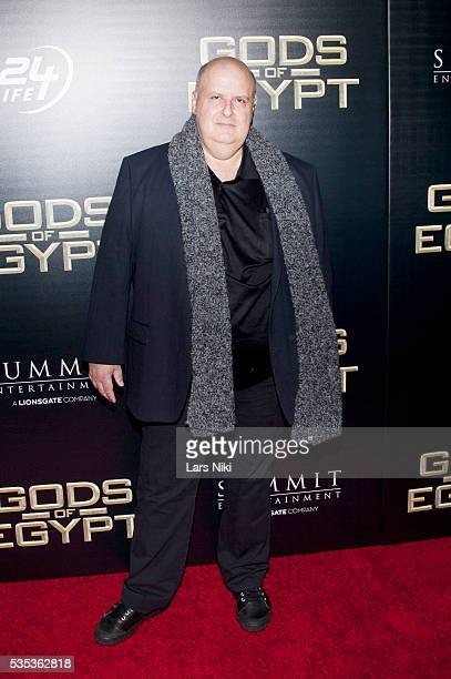 Alex Proyas attends the 'Gods Of Egypt' New York Premiere at AMC Loews Lincoln Square 13 in New York City © LAN