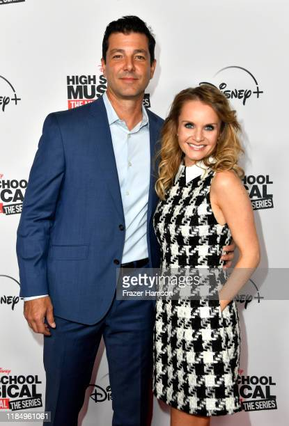 """Alex Quijano and Kate Reinders attend the Premiere Of Disney+'s """"High School Musical: The Musical: The Series"""" at Walt Disney Studio Lot on November..."""