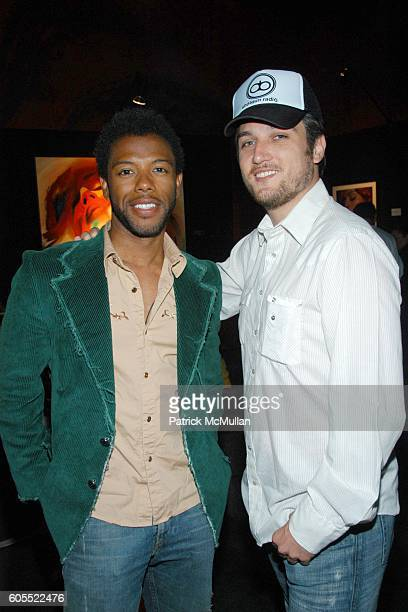 Alex Quinn and Jason Grahm attend Madonna Gallerie to Debut at W Hotel Los Angeles at W Hotel on May 16 2006 in New York City