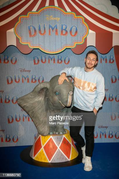 """Alex Ramires attends the """"Dumbo"""" Paris Gala Screening at Cinema Le Grand Rex on March 18 2019 in Paris France"""