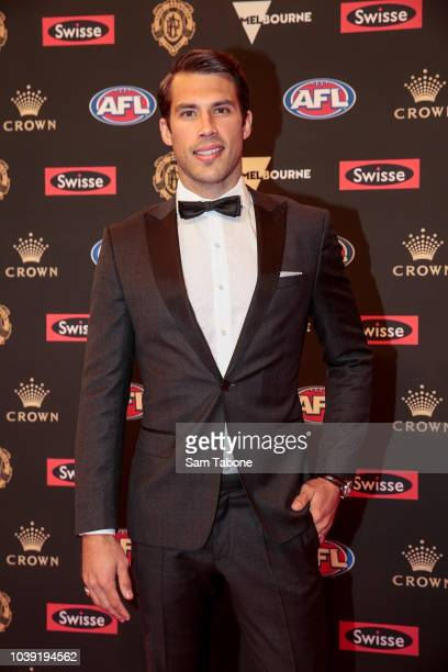 Alex Rance attends 2018 Brownlow Medal at Crown Entertainment Complex on September 24 2018 in Melbourne Australia