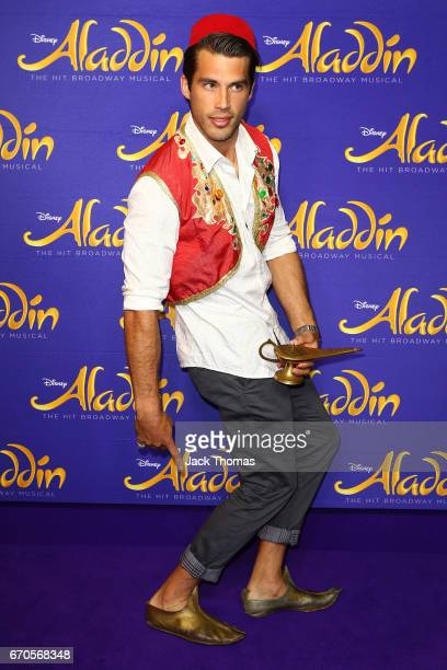 Alex Rance from the Richmond Football club arrives ahead of Aladdin opening night at Her Majesty's Theatre on April 20 2017 in Melbourne Australia
