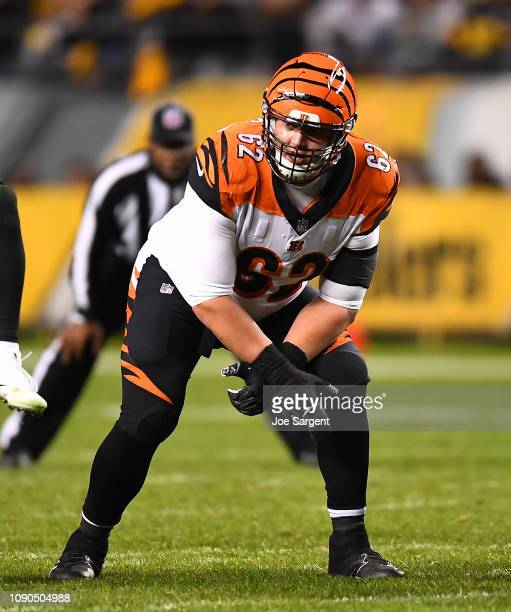 Alex Redmond of the Cincinnati Bengals in action during the game against the Pittsburgh Steelers at Heinz Field on December 30 2018 in Pittsburgh...