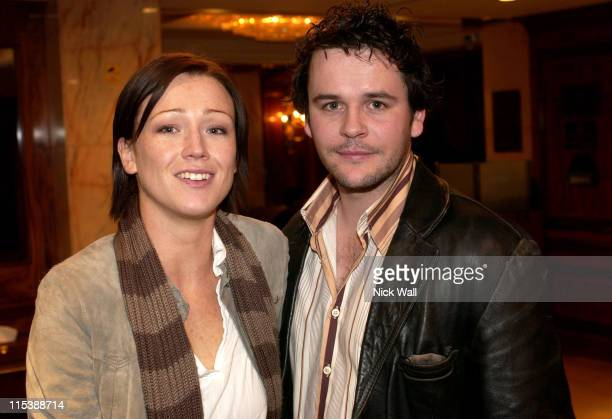 Alex Reid and Jonathan Byrne during The Times BFI London Film Festival 2003 The Honeymooners Screening at Hampshire Hotel in London United Kingdom