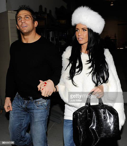 Katie Price And Alex Reid Sighting In Las Vegas February 4