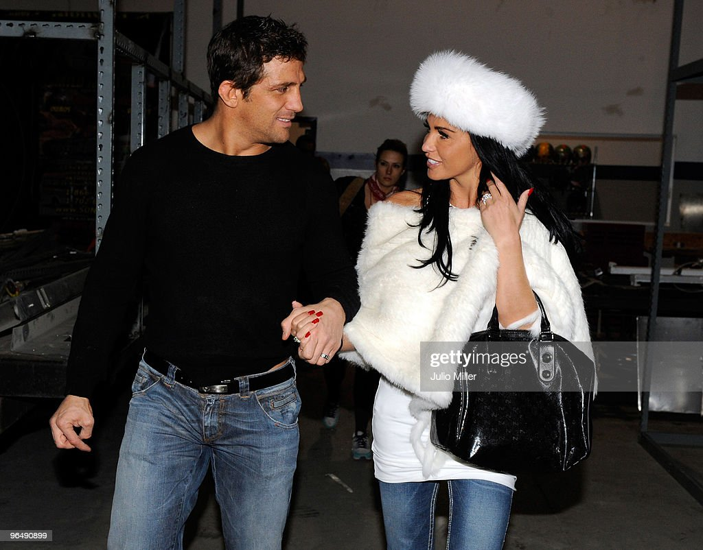 Alex Reid And Katie Price Are Seen With Wedding Rings On February 4 2010 In