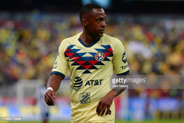 Alex Renato Ibarra of America looks on during the 1st round match between America and Monterrey as part of the Torneo Apertura 2019 Liga MX at Azteca...