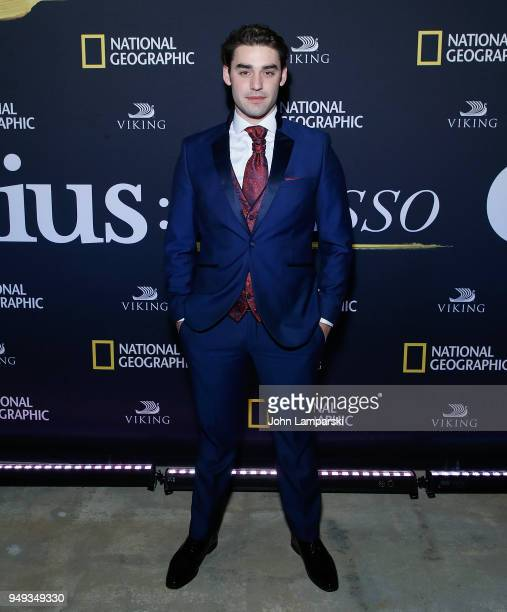 Alex Rich attends 'Genius Picasso' after party during the 2018 Tribeca Film Festival on April 20 2018 in New York City