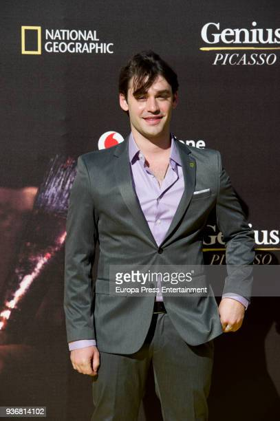Alex Rich attends 'Genius' premiere at Cervantes theatre the second season of National Geographic's anthology series about Pablo Picasso on March 22...