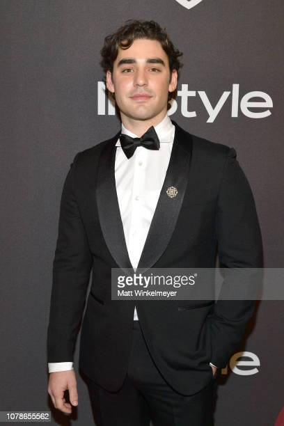 Alex Rich attends the 2019 InStyle and Warner Bros 76th Annual Golden Globe Awards PostParty at The Beverly Hilton Hotel on January 6 2019 in Beverly...
