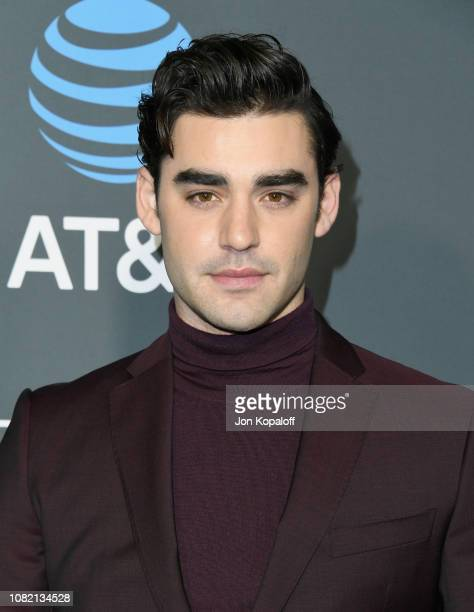 Alex Rich attends the 24th annual Critics' Choice Awards at Barker Hangar on January 13 2019 in Santa Monica California