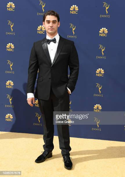 Alex Rich attends the 70th Emmy Awards at Microsoft Theater on September 17 2018 in Los Angeles California