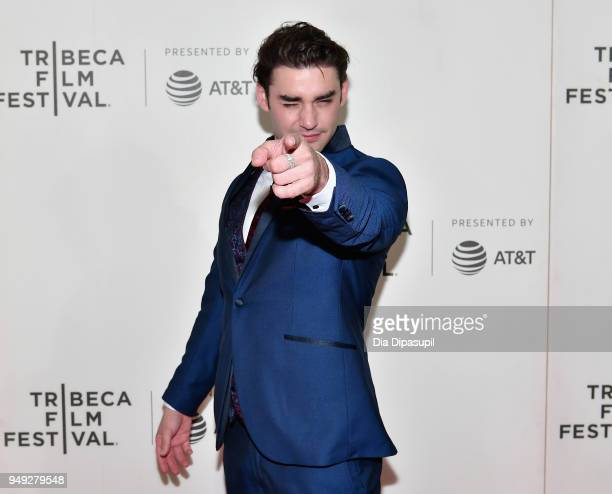 Alex Rich attends the 'Genius Picasso' premiere during the 2018 Tribeca Film Festival at BMCC Tribeca PAC on April 20 2018 in New York City