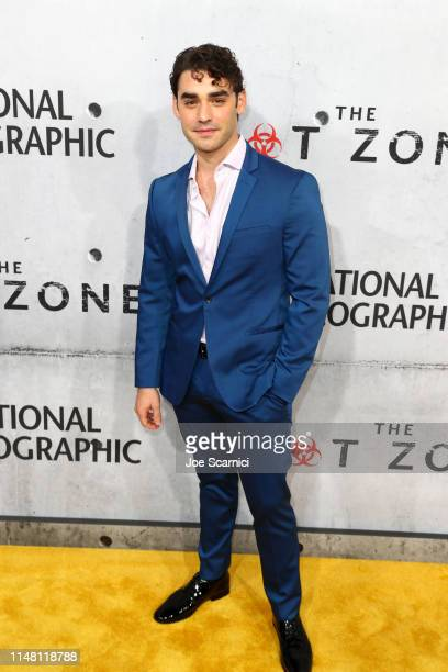 """Alex Rich attends the LA premiere of National Geographic's 3Night Limited Series """"The Hot Zone"""" which premieres Monday May 27 9/8c at Samuel Goldwyn..."""