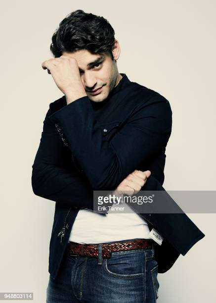 Alex Rich of the series Genius Picasso poses for a portrait during the 2018 Tribeca Film Festival at Spring Studio on April 19 2018 in New York City