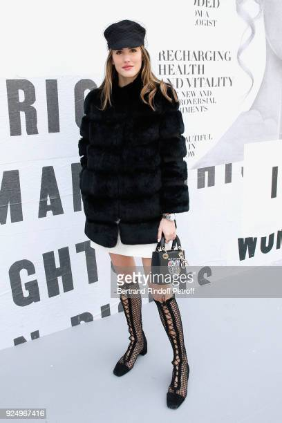 Alex Riviere attends the Christian Dior show as part of the Paris Fashion Week Womenswear Fall/Winter 2018/2019 on February 27 2018 in Paris France