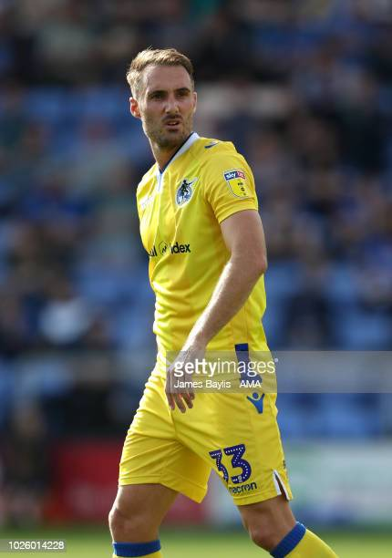 Alex Rodman of Bristol Rovers during the Sky Bet League One match between Shrewsbury Town and Bristol Rovers at New Meadow on September 1 2018 in...