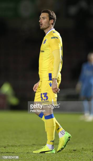 Alex Rodman of Bristol Rovers in action during the Checkatrade Trophy match between Northampton Town and Bristol Rovers at PTS Stadium on January 08...