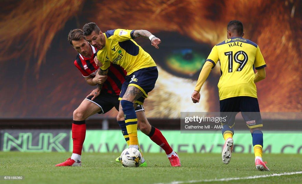 Oxford United v Shrewsbury Town - Sky Bet League One : News Photo