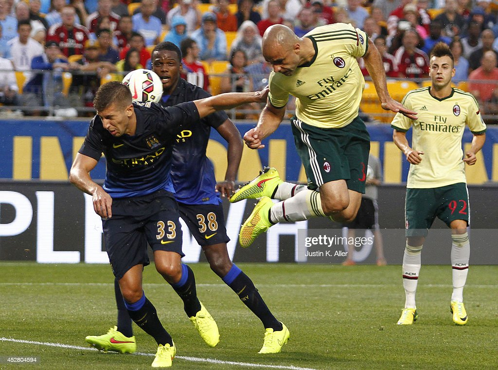 International Champions Cup 2014 - Manchester City v AC Milan