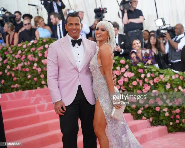 Alex Rodriguez and Jennifer Lopez attend The Metropolitan Museum Of Art's 2019 Costume Institute Benefit Camp Notes On Fashion at Metropolitan Museum...