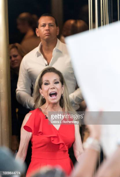 Alex Rodriguez and Kathie Lee Gifford live on NBC's 'TODAY' on August 2 2018 in New York City