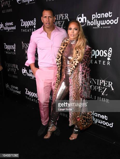 Alex Rodriguez and Planet Hollywood headliner Jennifer Lopez on the red carpet following the finale performance of her recordbreaking residency...