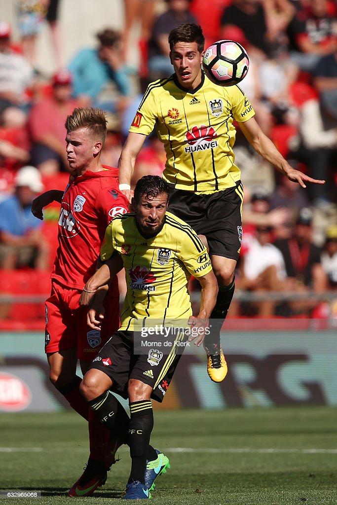 A-League Rd 17 - Adelaide v Wellington