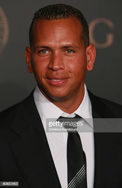 Alex Rodriguez arrives at the Madonna Gucci Present A Night to Benefit Raising Malawi at the United Nations on February 6 2007 in New York City