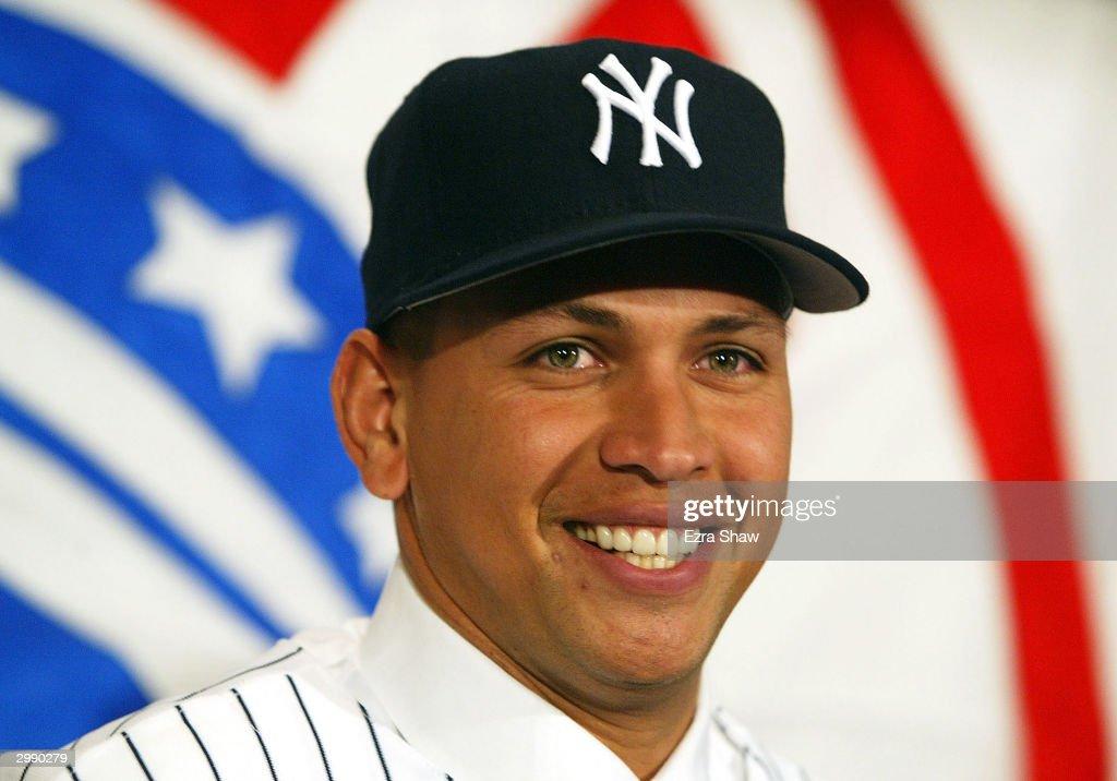 New York Yankees Introduce Alex Rodriguez