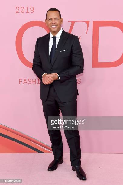 Alex Rodriguez attends the CFDA Fashion Awards at the Brooklyn Museum of Art on June 03 2019 in New York City