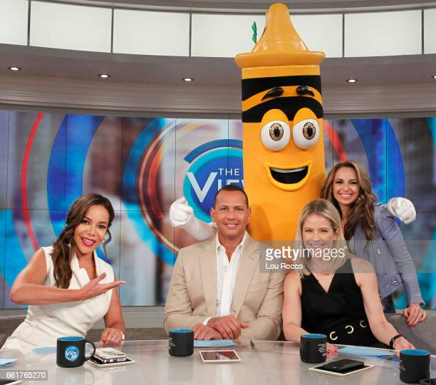 Alex Rodriguez guest cohosts on 'Guy Day Friday' and Katey Sagal is the guest today on ABC's 'The View' 'The View' airs MondayFriday on the ABC...