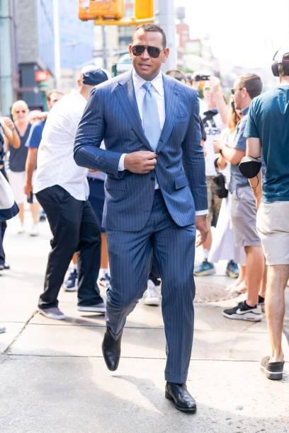 NY: Celebrity Sightings In New York City - July 18, 2021