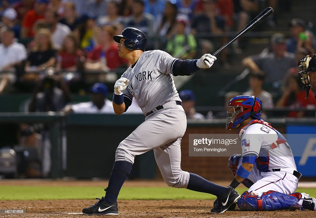 New York Yankees v Texas Rangers : News Photo