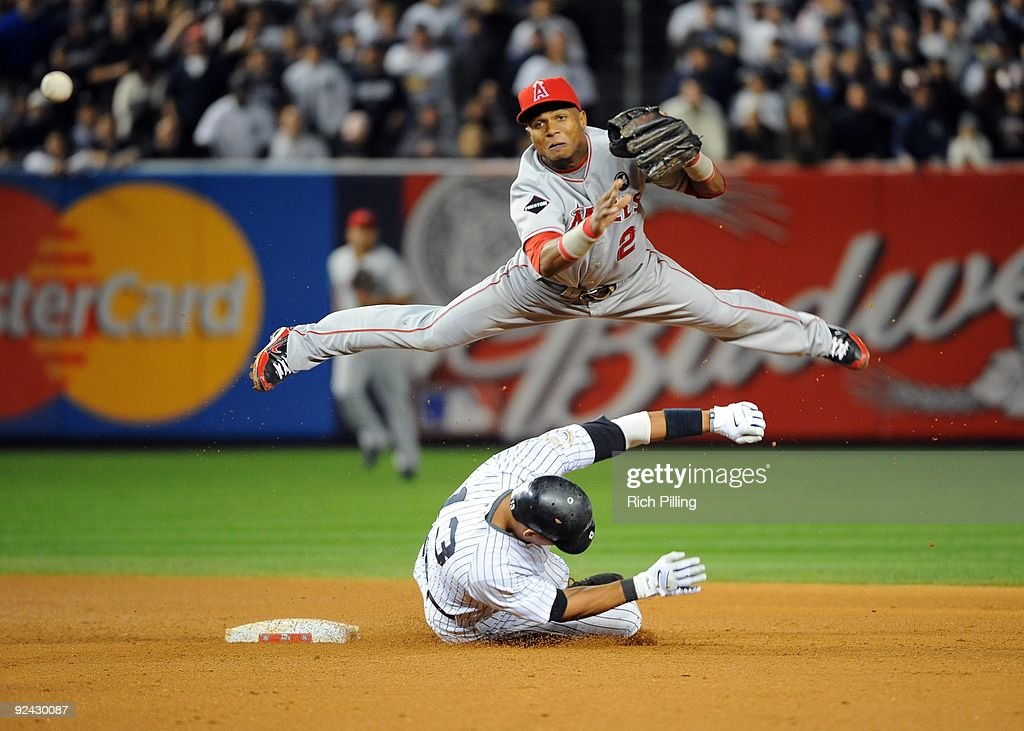 Los Angeles Angels of Anaheim v New York Yankees, Game 6