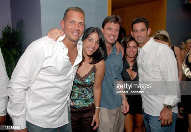 Alex Rodriguez of the New York Yankees Marie Martinez Tino Martinez of the New York Yankees Laura Posada and Jorge Posada of the New York Yankees...