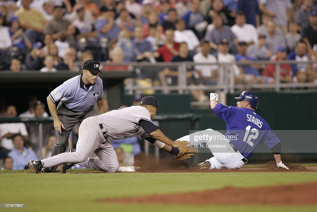 New York Yankees vs Kansas City Royals - May 31, 2005