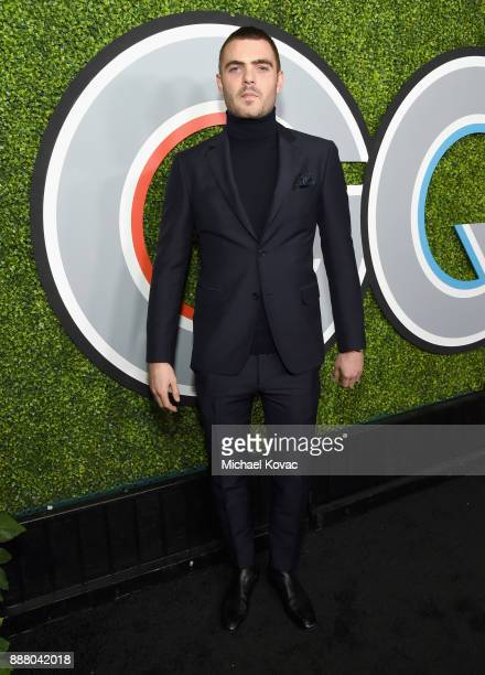 Alex Roe attends the 2017 GQ Men of the Year party at Chateau Marmont on December 7 2017 in Los Angeles California
