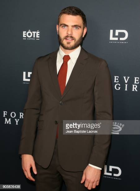Alex Roe attends the premiere of Roadside Attractions' 'Forever My Girl' on January 16 2018 in Los Angeles California